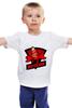 """Детская футболка классическая унисекс """"VIRTUS.DNO (VIRTUS.PRO)"""" - pro, 2, dota, dota 2, дота, dota2, дота 2, virtus, ns, виртус"""
