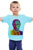 """Детская футболка классическая унисекс """"МОй Президент"""" - путин, президент, putin"""