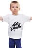 "Детская футболка ""Natus Vincere Calligraphy"" - игры, dota, dota 2, navi, natus vincere, дота, каллиграфия, edward, киберспорт, dendi"