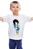 """Детская футболка классическая унисекс """"Анимешка"""" - девушка, женская, аниме, an1"""
