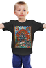 """Детская футболка классическая унисекс """"Тибетская Vajrabhairava"""""""