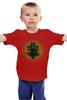 "Детская футболка классическая унисекс ""Ганеш фиалка"" - слон, ганеш"