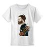 """Детская футболка классическая унисекс """"Бородач"""" - парень, необычно, борода, beard"""
