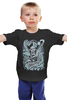 """Детская футболка """"Art Horror"""" - skull, череп, zombie, зомби, evil"""