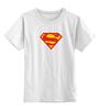 """Детская футболка классическая унисекс """"Супермен"""" - comics, супермен, superman"""