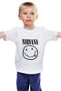 "Детская футболка ""Nirvana (Нирвана)"" - nirvana, нирвана"