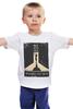 """Детская футболка классическая унисекс """"Buried at sea"""" - плакат, биошок, bioshock, восторг, rapture"""