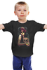 """Детская футболка """"День Мёртвых"""" - skull, череп, иллюстрация, день мёртвых, диа де лос муэртос"""