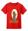 """Детская футболка классическая унисекс """"Cats"""" - кот, кошка, авторские майки, кошки"""