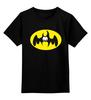 """Детская футболка классическая унисекс """"Бэтмен (Batman)"""" - пародия, batman, бэтмен"""