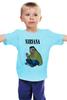 "Детская футболка ""Nirvana Kurt Cobain "" - гранж, nirvana, kurt cobain, курт кобейн, нирвана"