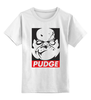 "Детская футболка классическая унисекс ""Dota 2 - Pudge"" - dota, dota 2, pudge, дота 2, пудж, dota 2 pudge"