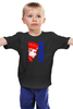 "Детская футболка ""Putin"" - russia, путин, президент, putin"