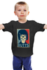 """Детская футболка классическая унисекс """"Булки (Тина Белчер)"""" - obey, закусочная боба, butts, булки, тина белчер"""