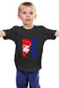 """Детская футболка классическая унисекс """"Putin"""" - россия, russia, путин, президент, putin"""