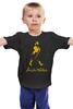 "Детская футболка ""Джонни Уокер"" - виски, whisky, johnnie walker"