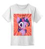 "Детская футболка классическая унисекс ""Let's Begin"" - twilight, pony, mlp, my little pony, пони, сатана, искорка"