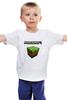 """Детская футболка классическая унисекс """"Minecraft - Куб"""" - minecraft, майнкрафт"""
