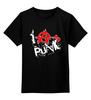 """Детская футболка классическая унисекс """"Punks Not Dead"""" - punks not dead, анархия, панк, панк рок, anarchy"""