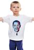 """Детская футболка """"Барак Обама"""" - арт, usa, сша, президент, president, barack obama"""