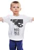 """Детская футболка """"Mad Max / Безумный Макс"""" - череп, чб, mad max, безумный макс, kinoart"""