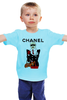 "Детская футболка ""Chanel"" - прикол, юмор, духи, бренд, fashion, коко шанель, brand, coco chanel, шанель, perfume"
