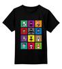 "Детская футболка классическая унисекс ""Бэтмен Поп Арт"" - joker, batman, бэтмен, bane, robin"