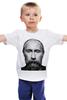"""Детская футболка классическая унисекс """"ВВП с бородой"""" - путин, борода, putin, beard"""