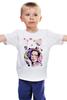 """Детская футболка классическая унисекс """"Плод Воображения."""" - девушка, портрет, акварель, груша"""