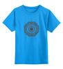 """Детская футболка классическая унисекс """"Символ лотоса"""" - восток, религия, символ, лотос"""