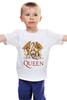 """Детская футболка классическая унисекс """"Queen"""" - queen, куин"""
