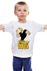 "Детская футболка ""Johnny Bravo"" - сериал, мульт, johnny bravo, джонни браво"