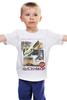 """Детская футболка """"Vanishing Point"""" - авто, винтаж, иероглифы, исчезающая точка, vanishing point"""