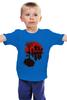 "Детская футболка классическая унисекс ""Zomdie Art"" - арт, zombie, зомби, ходячие мертвецы, the walking dead"