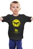 "Детская футболка классическая унисекс ""The Dark Knight"" - batman, бэтмен, тёмный рыцарь, the dark knight, kinoart"