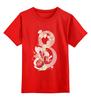 """Детская футболка классическая унисекс """"8 марта!"""" - цветы, 8 марта, международный женский день"""