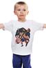 """Детская футболка классическая унисекс """"AC/DC - Angus McKinnon Young"""" - metal, rock, дьявол, демон, demon, angus, devil, ангус янг, acdc"""