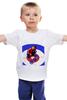 """Детская футболка классическая унисекс """"Путин - кёрлинг"""" - кёрлинг, россия, политика, путин, президент"""