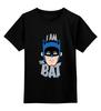 """Детская футболка классическая унисекс """"I Am the Bat"""" - комиксы, batman, герой, бэтмен"""
