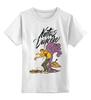 """Детская футболка классическая унисекс """"Natus Vincere (Na'Vi) – Illustration White"""" - игры, game, dota, dota 2, navi, natus vincere, monsters, монстры, дота, каллиграфия"""