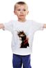 "Детская футболка ""Girl In Sepia"" - девушка"