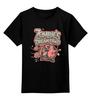"""Детская футболка классическая унисекс """"Зомби - Пожиратель  """" - zombie, зомби, пожиратель"""