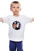 """Детская футболка классическая унисекс """"Потеряный"""" - мозаика, яркий принт, потеряный"""