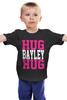 "Детская футболка ""Hug Bayley Hug (WWE)"" - wwe, hug, рестлинг, bayley, бэйли"