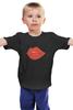 "Детская футболка ""Bite Me (Укуси Меня)"" - губы, kiss, поцелуй, вампир, укуси меня"