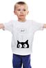 """Детская футболка классическая унисекс """"Шта??"""" - коты, милота"""