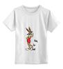 """Детская футболка классическая унисекс """"Bugs Bunny_woman"""" - fun, nice"""