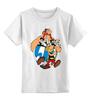 """Детская футболка классическая унисекс """"Астерикс и Обеликс"""" - комикс, астерикс и обеликс, галл, астерикс, обеликс"""
