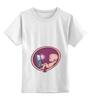 """Детская футболка классическая унисекс """"Я БЕРЕМЕННА"""" - одежда для беременных, беременность, пол ребёнка, я беременная, жду ребёнка"""