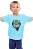 """Детская футболка """"Лиса в шарфике"""" - fox, лиса, лиса в шарфике"""